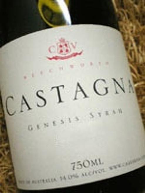Castagna Genesis Syrah 2001