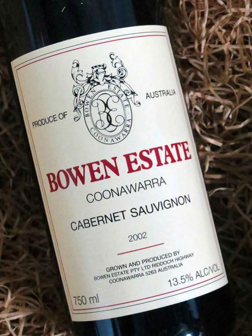 [SOLD-OUT] Bowen Estate Cabernet Sauvignon 2002