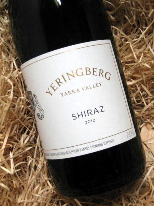 Yeringberg Shiraz 2010