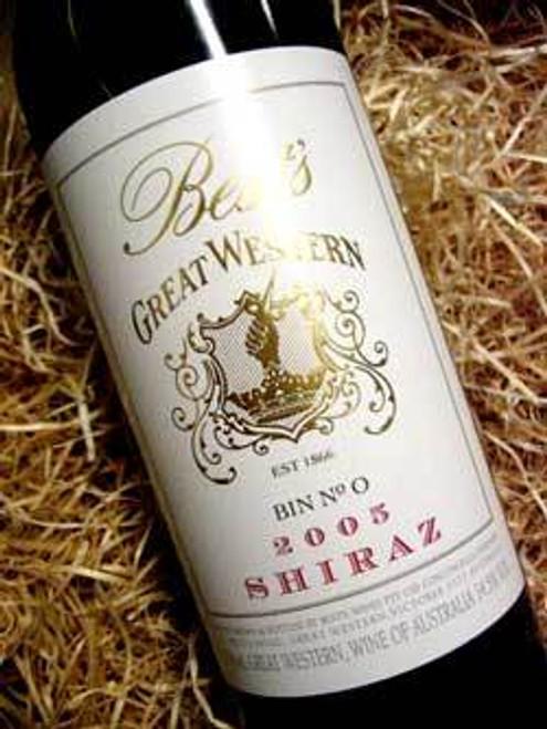 Best's Great Western Bin 0 Shiraz 2005