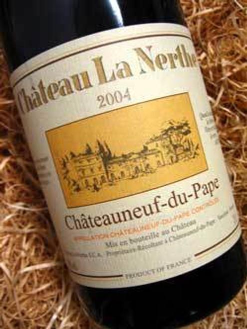 Chateau La Nerthe Chateauneuf-Du-Pape 2004