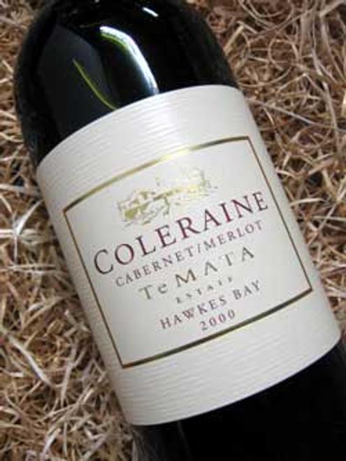 Te Mata Coleraine Cabernet Merlot 2000