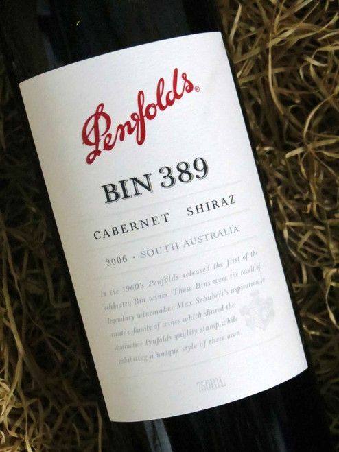 [SOLD-OUT] Penfolds Bin 389 2006