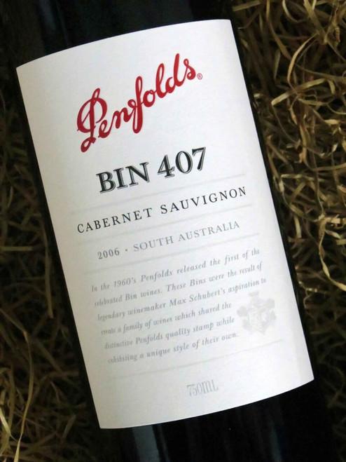 Penfolds Bin 407 2006