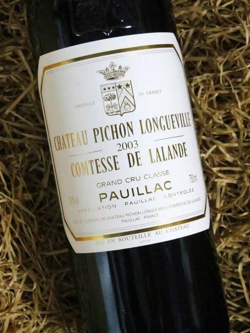 [SOLD-OUT] Chateau Pichon Longueville Comtesse De Lalande 2003