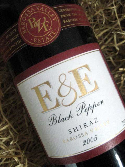 Barossa Valley Estate E&E Black Pepper Shiraz 2005