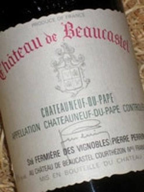 Chateau de Beaucastel Chateauneuf-du-Pape 1998
