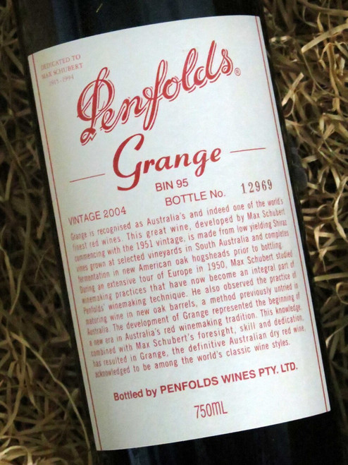 [SOLD-OUT] Penfolds Grange 2004