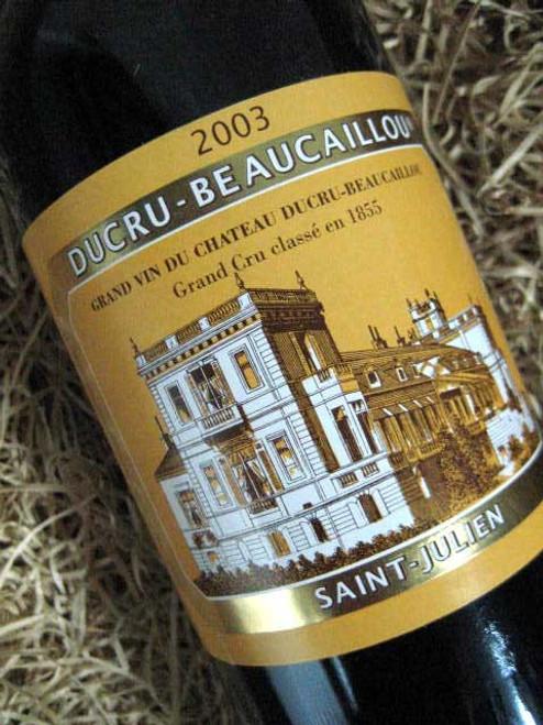Chateau Ducru Beaucaillou 2003
