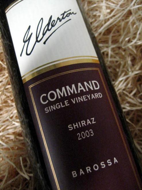 Elderton Command Shiraz 2003
