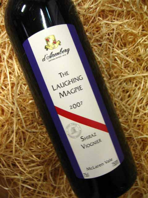 d'Arenberg Laughing Magpie Shiraz Viognier 2007