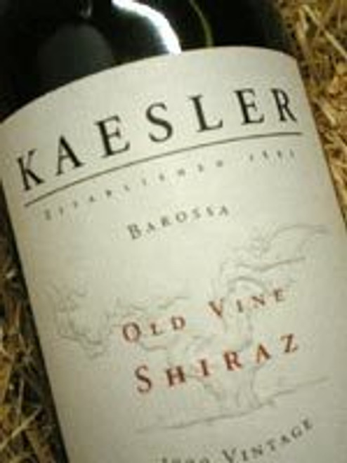 Kaesler Old Vine Shiraz 2001