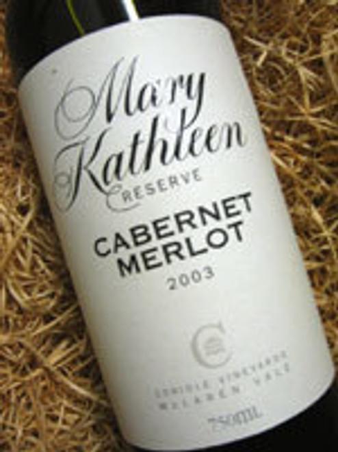 Coriole Mary Kathleen Reserve Cabernet Merlot 2006