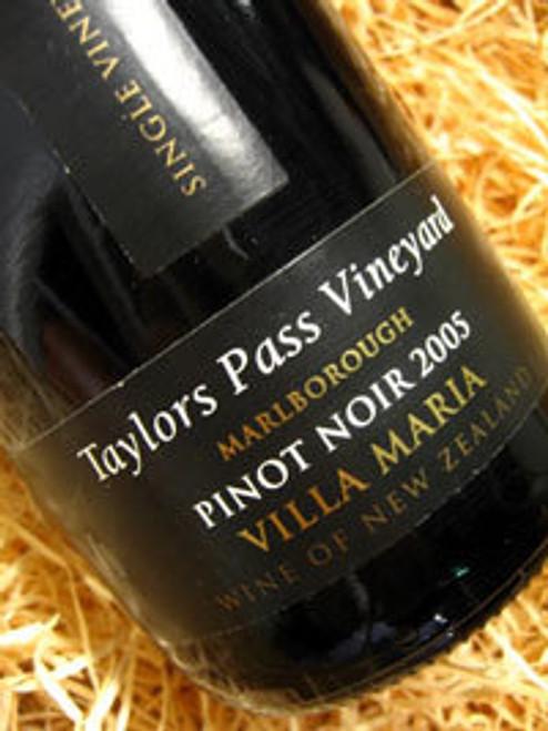 Villa Maria Taylors Pass Pinot Noir 2005