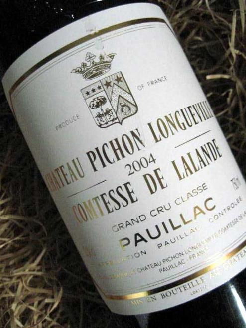 [SOLD-OUT] Chateau Pichon Longueville Comtesse De Lalande 2004
