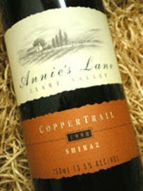 Annies Lane Copper Trail Shiraz 1999