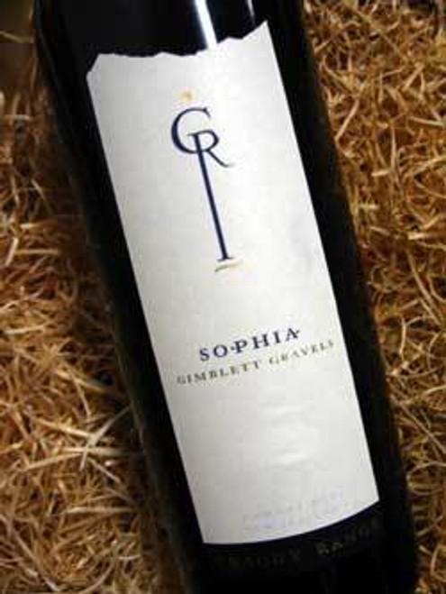 Craggy Range Sophia Merlot Cabernet Franc 2007