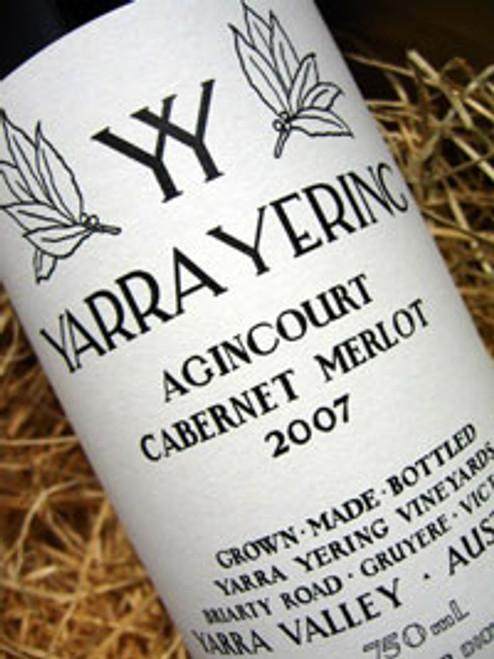 Yarra Yering Agincourt Cabernet Merlot 2007