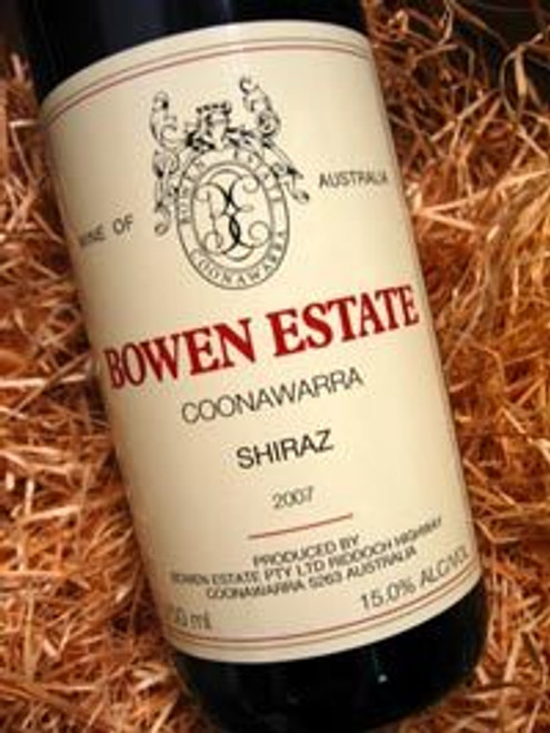 Bowen Estate Shiraz 2007