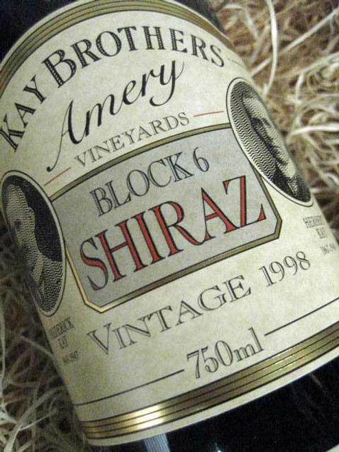 Kay Brothers Block 6 Shiraz 1998