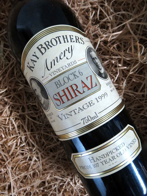 [SOLD-OUT] Kay Brothers Block 6 Shiraz 1999