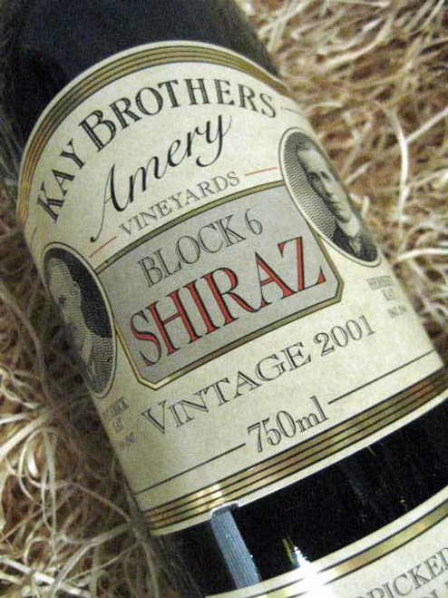 [SOLD-OUT] Kay Brothers Block 6 Shiraz 2001