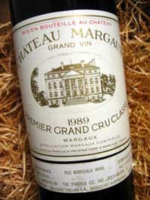Chateau Margaux 1989