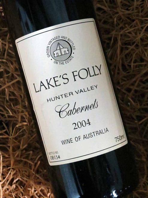 [SOLD-OUT] Lake's Folly White Label Cabernets 2004