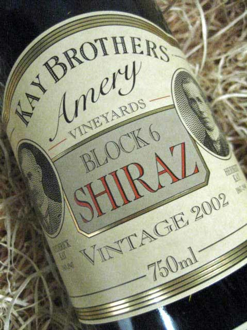 [SOLD-OUT] Kay Brothers Block 6 Shiraz 2002