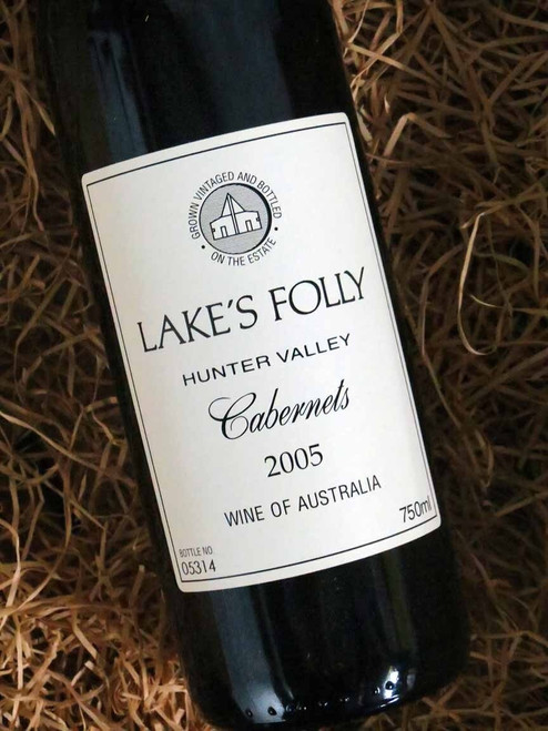 [SOLD-OUT] Lake's Folly White Label Cabernets 2005