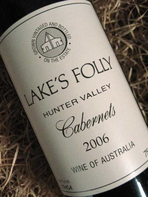 [SOLD-OUT] Lake's Folly White Label Cabernets 2006