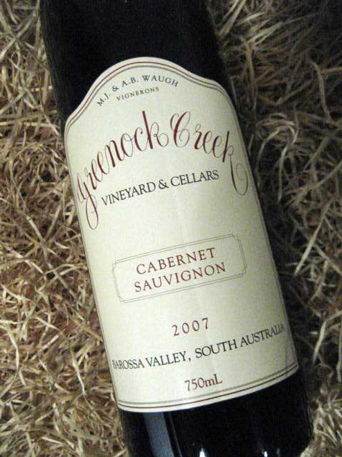 Greenock Creek Cabernet Sauvignon 2007