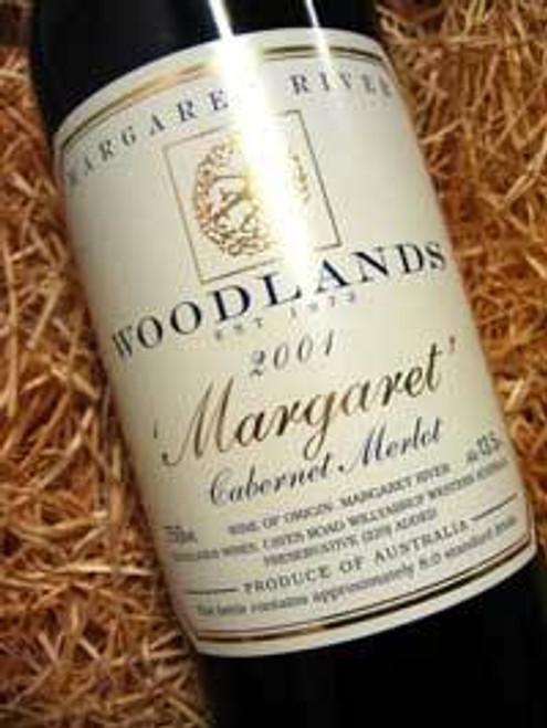 Woodlands Margaret Reserve Cabernet Merlot 2001