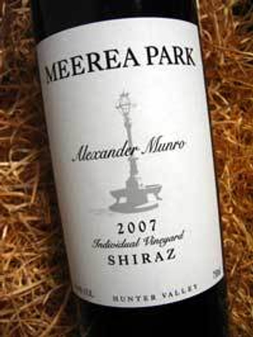 Meerea Park Alexander Munro Shiraz 2007