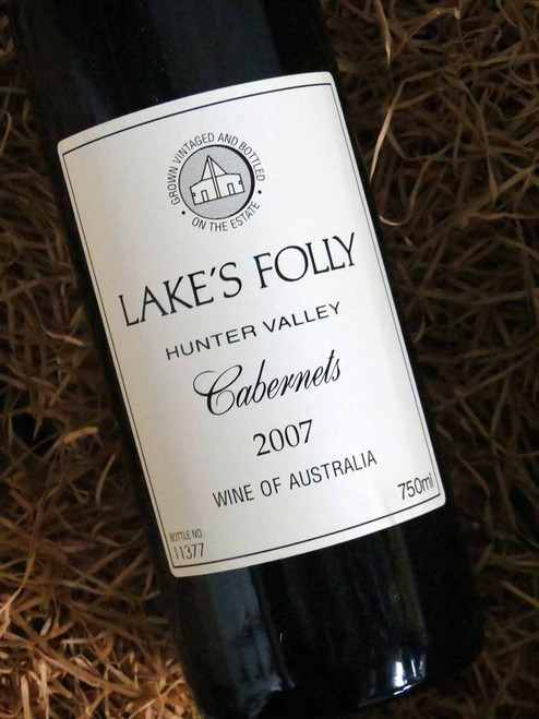 [SOLD-OUT] Lake's Folly White Label Cabernets 2007