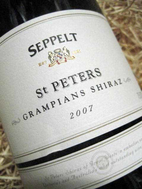 [SOLD-OUT] Seppelt St Peters Shiraz 2007