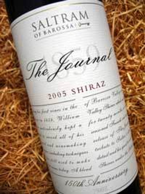 Saltram The Journal 150th Shiraz 2005