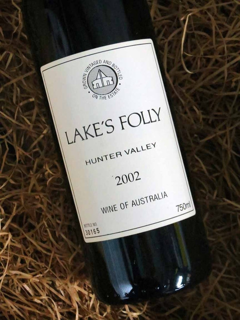[SOLD-OUT] Lake's Folly White Label Cabernets 2002