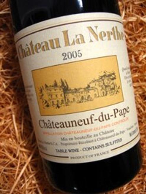 Chateau La Nerthe Chateauneuf-Du-Pape 2005