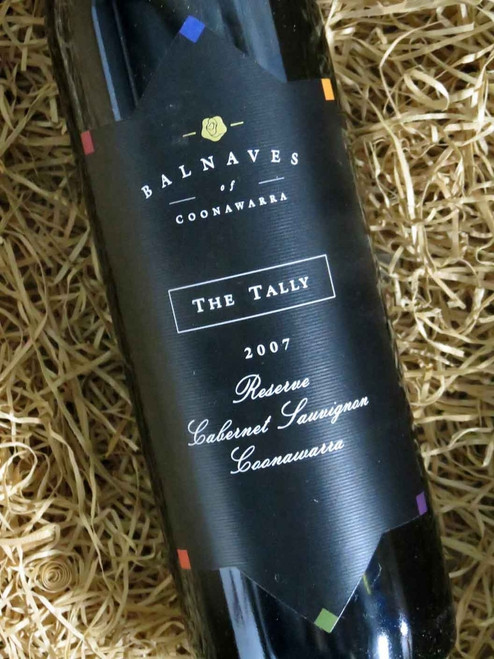 [SOLD-OUT] Balnaves The Tally Reserve Cabernet 2007