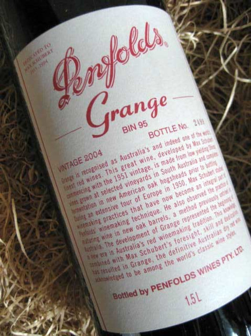 Penfolds Grange 2004 1500mL