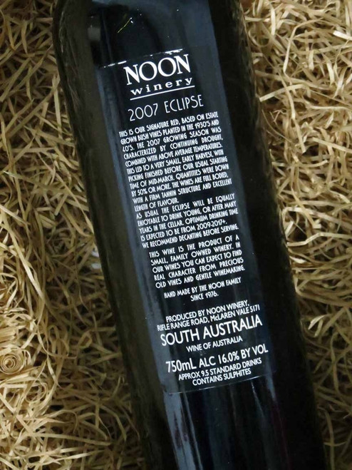 [SOLD-OUT] Noon Winery Eclipse Grenache Shiraz 2007