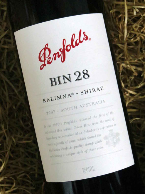 [SOLD-OUT] Penfolds Bin 28 2007