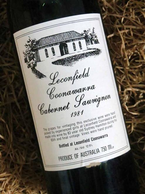 [SOLD-OUT] Leconfield Coonawarra Cabernet Sauvignon 1981