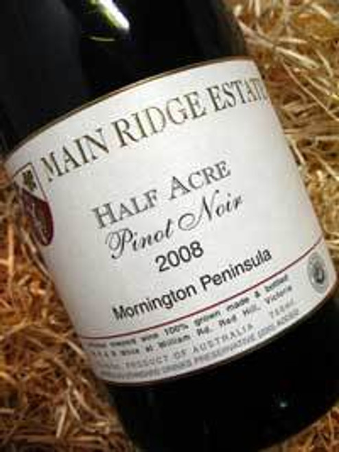 Main Ridge Half Acre Pinot Noir 2008