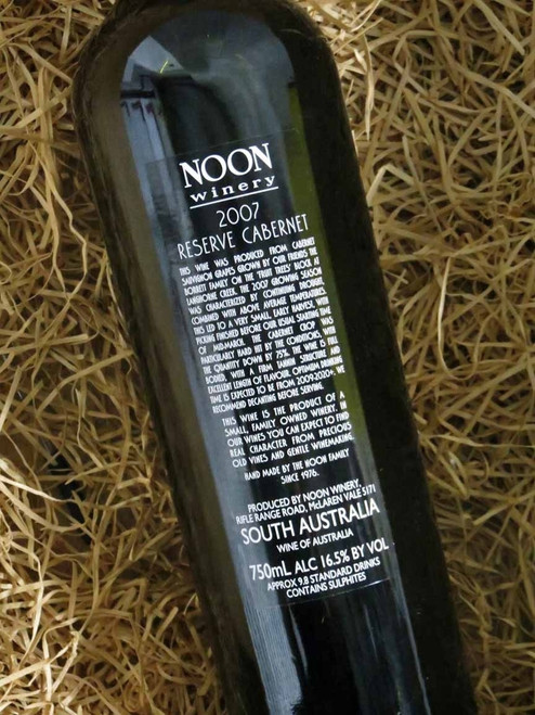 [SOLD-OUT] Noon Winery Reserve Cabernet Sauvignon 2007