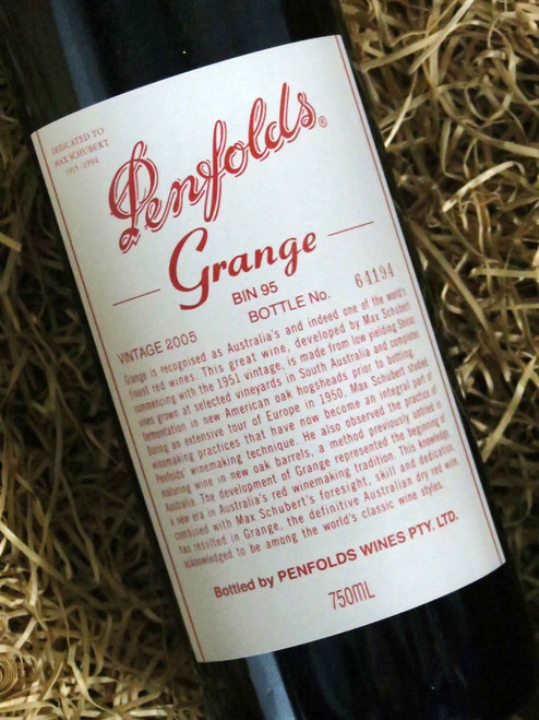 [SOLD-OUT] Penfolds Grange 2005