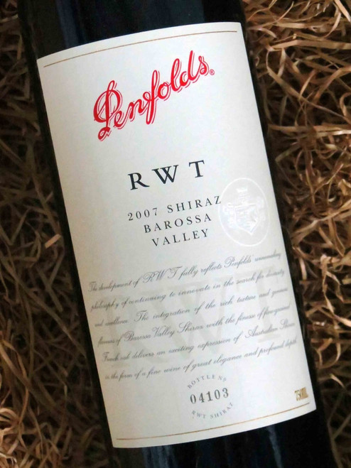 [SOLD-OUT] Penfolds RWT 2007