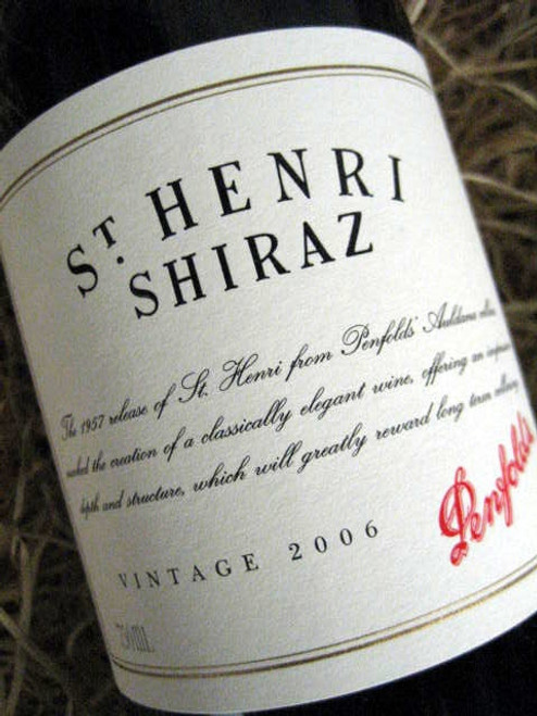 [SOLD-OUT] Penfolds St Henri 2006