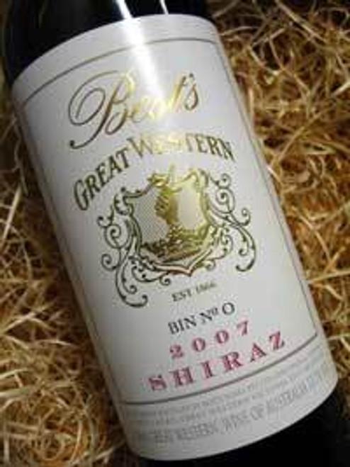 Best's Great Western Bin 0 Shiraz 2007